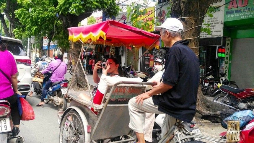 Hanoi 3 Tuk tuk
